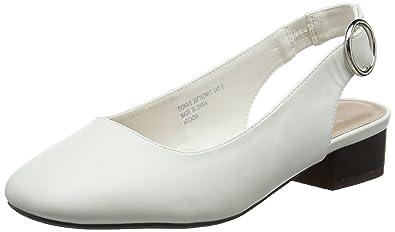 Evans Fiona, Escarpins Bride Arriere Femme, (White 03), 40 EU