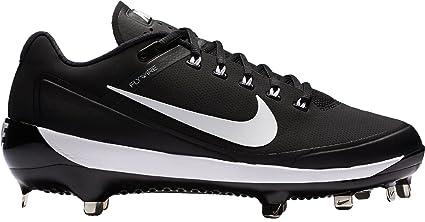 huge discount b4586 312a5 ... new style nike mens air clipper 17 metal baseball cleats black white  8.0 d 55609 94f47