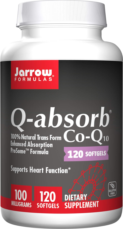 Jarrow Formulas Q-Absorb®, Supports Heart Function*, 100 mg, 120 Softgels by Jarrow Formulas