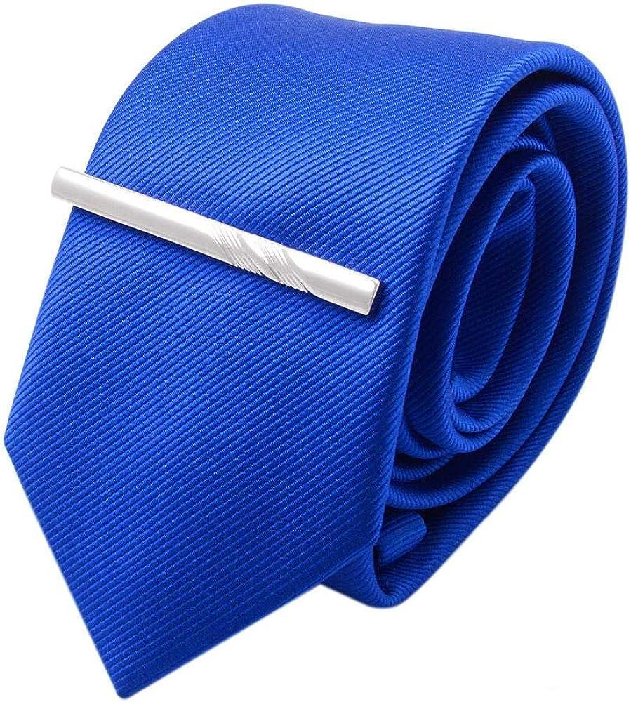 M/étal simple serg/é classique formel collier daffaires pince /à cravate bouton de manchette pince /à cravate pour hommes