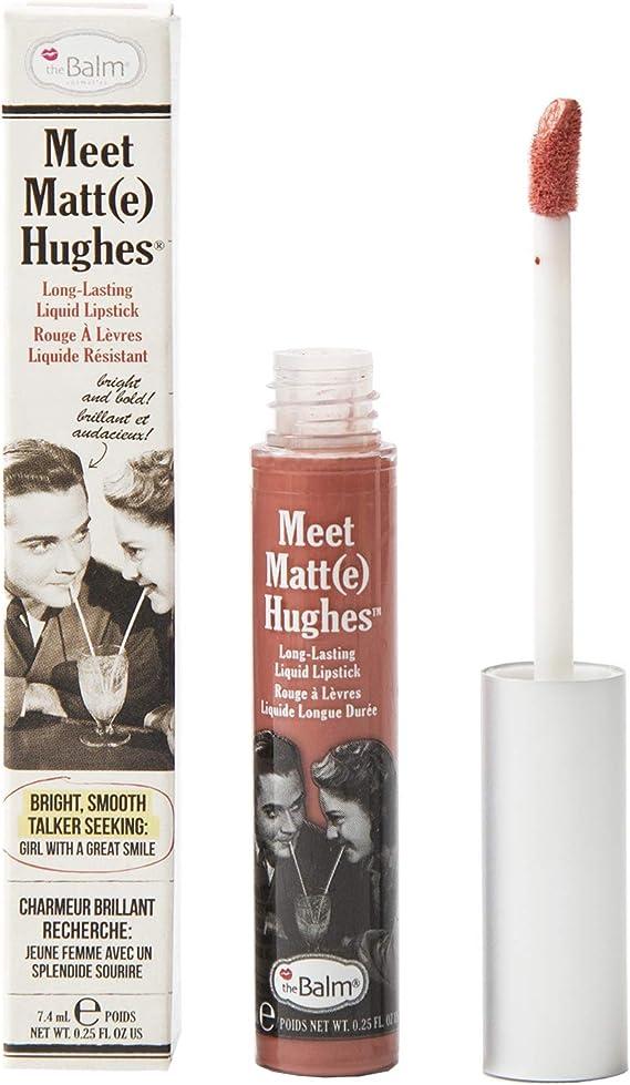 TheBalm Meet Mate Hughes - Pintalabios líquido (6,5 ml ...