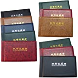 Whitelotous 1 Piece 30 Pages Paper Money Note Holder Collection Storage Collecting Money Album Book (Color in Random)