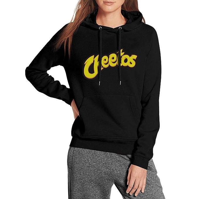 Amazon.com: Sudadera con capucha negra para mujer con diseño ...