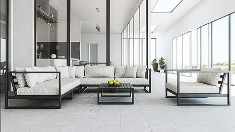 Mobili da giardino in rattan terrazza con giardino dinverno divano tavolo,Grey
