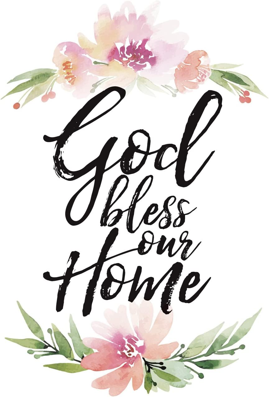 """Dexsa God Bless Our Home Woodland Grace Series 6"""" x 9"""" Wood Plaque with Easel"""