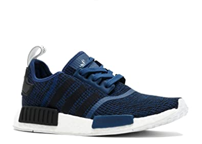 0b75a8da1f7ed Image Unavailable. Image not available for. Color  adidas NMD R1 - By2775 -  Size 4 Navy ...