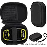 Protective Case for Golf GPS by CaseSack Specially Designed for IZZO Swami 4000+ Golf GPS and Swami 4000 Swami 5000 Golf GPS Rangefinder; Garmin Approach G30 G6 G7 (Black)