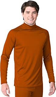 product image for WSI Microtech Form Fit Long Sleeve Shirt, Burnt Orange, Youth Large