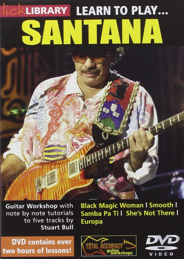 Learn to Play Santana [Import anglais] Roadrock International Instructional Music DVDs