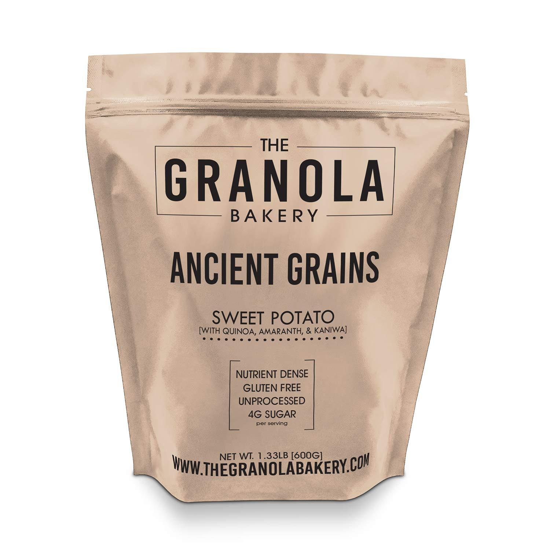 Granola Bakery - Ancient Grain Sweet Potato Granola, 1.33lb Bulk Bag - Healthy Gluten Free Low Sugar Breakfast Cereal (Organic Oats, Chia, Flax, Coconut) by YOLEEZ