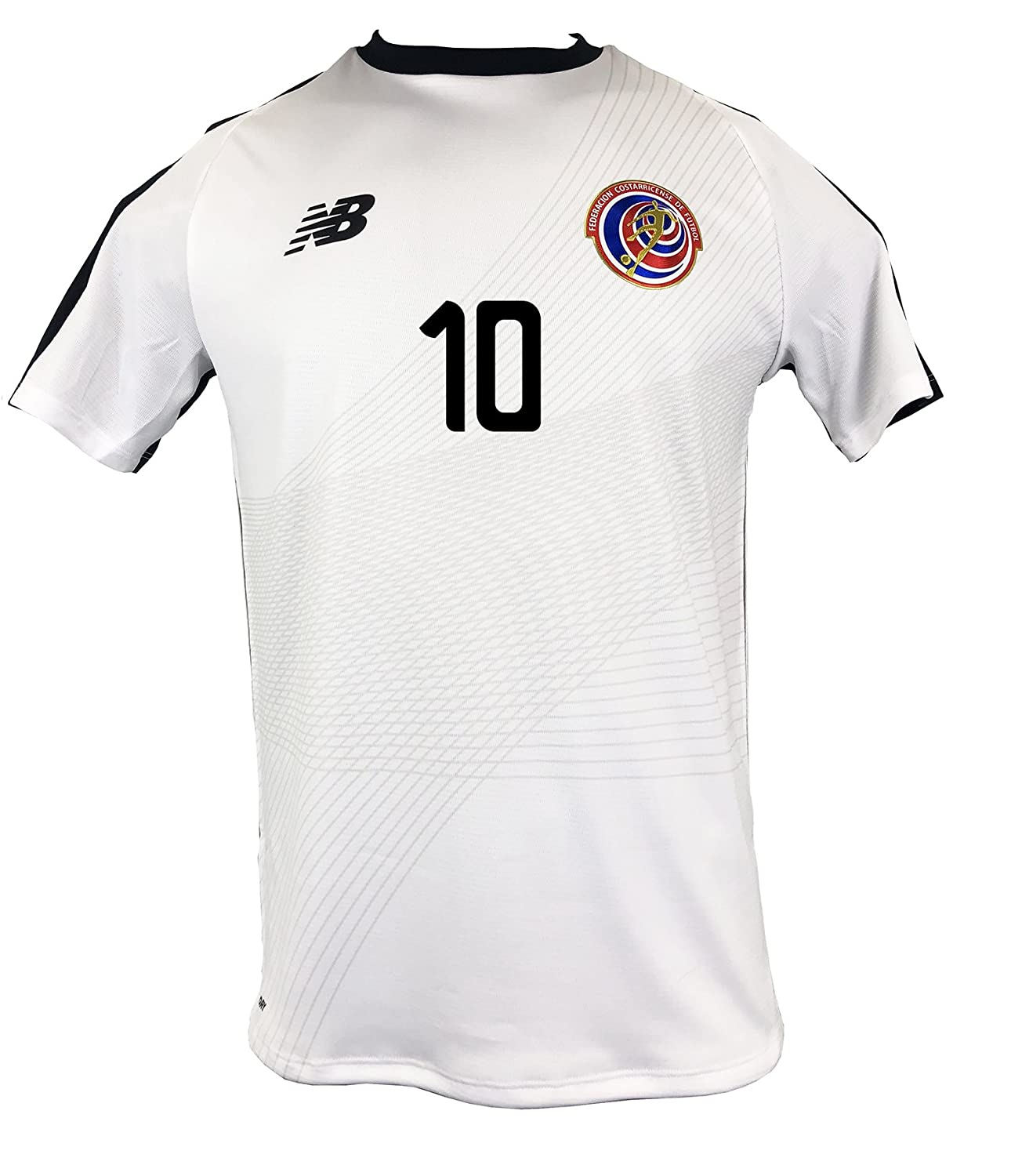 Amazon.com  New Balance Bryan  10 Costa Rica Away Soccer Men s Jersey FIFA  World Cup Russia 2018  Clothing bb1a9009f