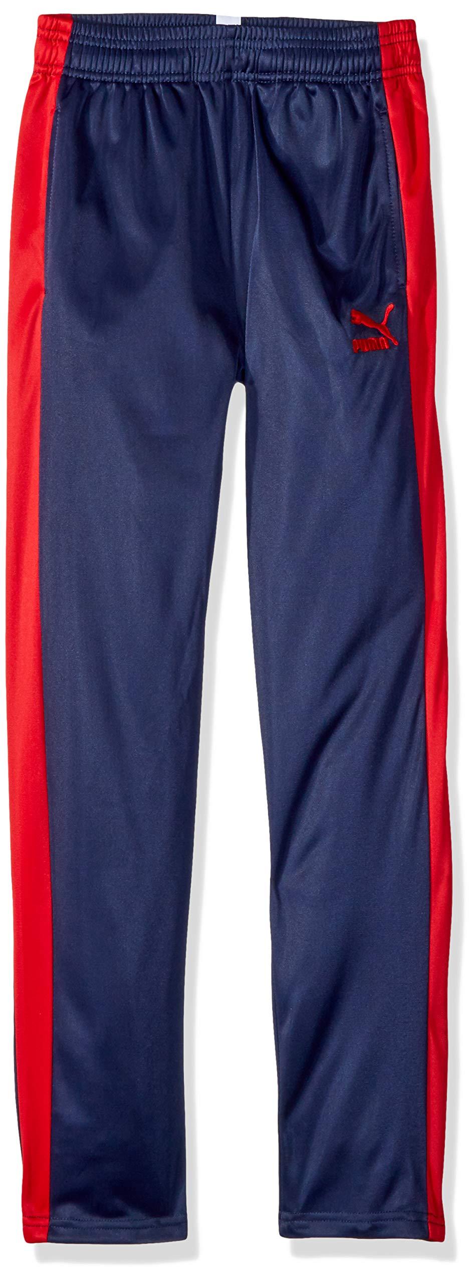 PUMA Big Boys' Track Pants, Peacoat, L