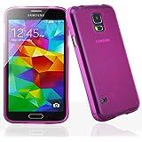 Bingsale TPU Case Samsung Galaxy S5 / Samsung Galaxy S5 Neo Silikon Tasche Hülle - Silicon Protector Schutzhülle (hot pink)