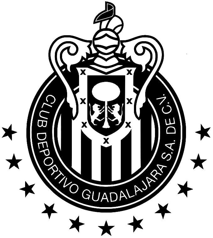 Amazoncom Club Chivas Del Guadalajara Decal Calcomania Blanco 9