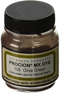 product image for Deco Art PMX-1105 Jacquard Procion Mx Dye, 2/3-Ounce, Olive Green