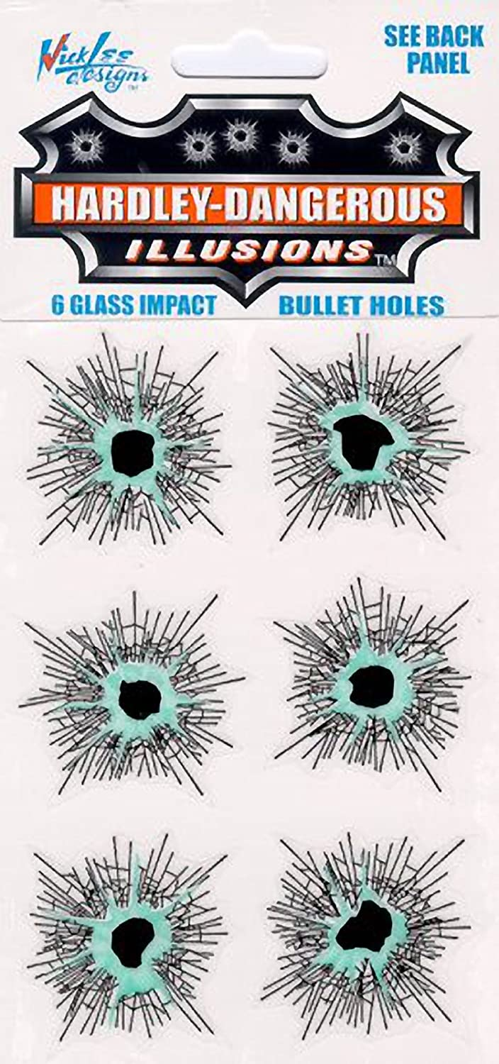 Glass Bullet Holes