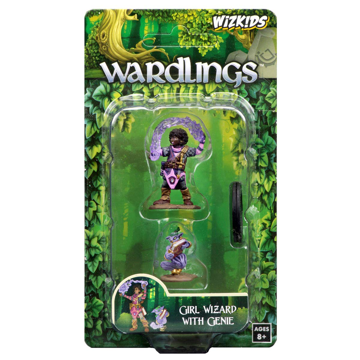 WizKids Wardlings RPG Figures Girl Wizard /& Genie WZK73323