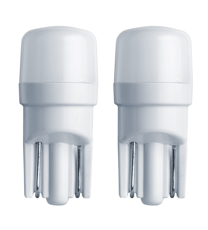 1W HELLA 921LED 5K 5,000 Kelvin Warm White LED-1W LED Performance Bulb Set 2 Pack 12V