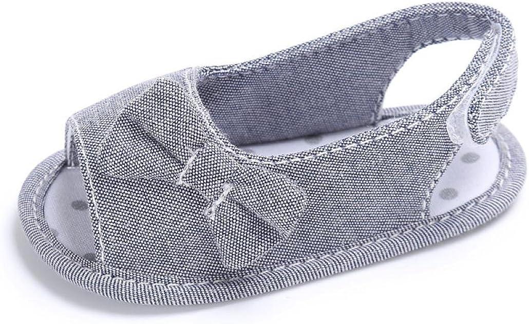 Zapatos Beb/é Primeros Paso Sandalias de beb/é Reci/én Nacido Calzado Zapatillas Zapatos de Vestir Zapatos Princesa Bowknot Prealkers ni/ñas Primeros Pasos 0-18 Mes