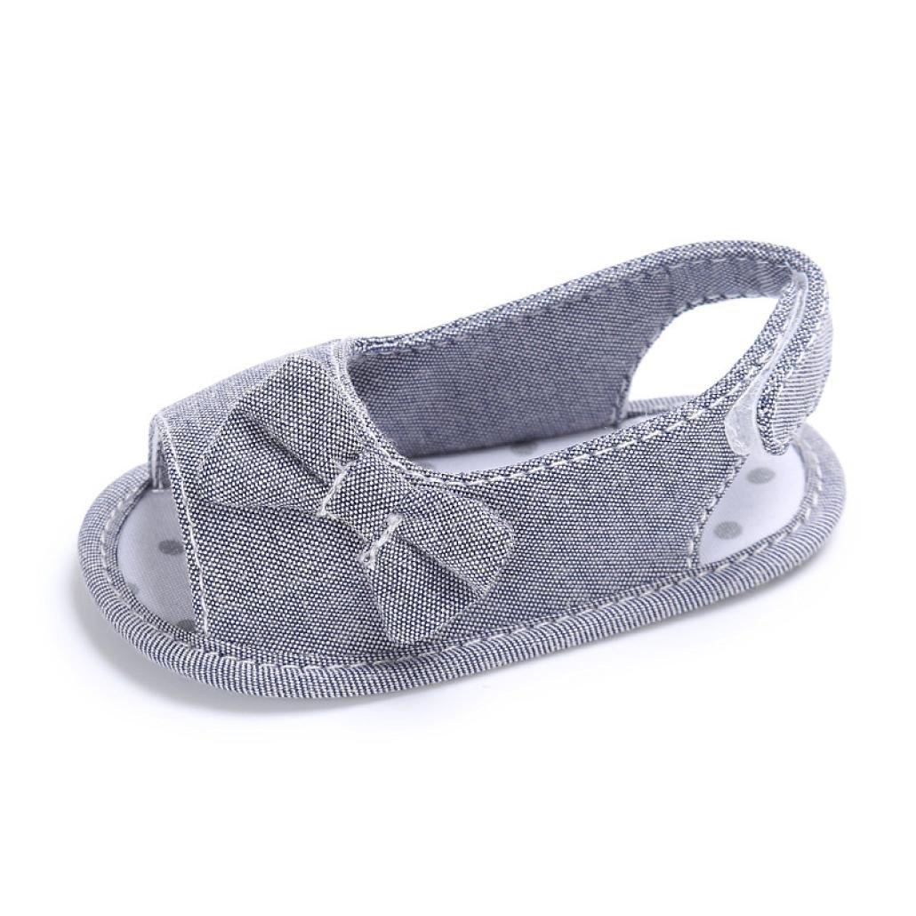 Zapatos Bebé Primeros Paso ❤️ Amlaiworld Sandalias de bebé Recién Nacido Calzado Zapatillas Zapatos de Vestir Zapatos Princesa Bowknot Prealkers niñas Primeros Pasos 0-18 Mes