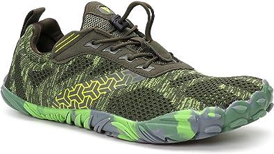 Whitin Unisexe Large Toe Minimaliste Trail Courir Pieds Nus Chaussures