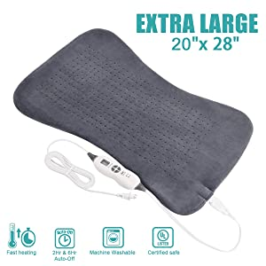 Tech Love XXL Electric Heating Pad