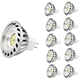 CYLED 6W Mr16 Led Lamps, 50W Halogen Lamp Equivalent, 500Lm, Warm White, 3000K, 60 Beam Angle, Led Spot Light Bulbs,Pack…