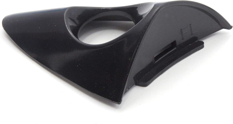 Otois Exterior Door Handle Cap Cover 826523X000 Front Driver Side Keyhole Primed Black for Hyundai Elantra 2011 2015