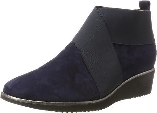 Hassia Damen Genua, Weite K Stiefel: : Schuhe