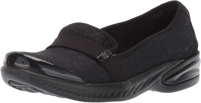 BZees Women's Nugget Loafer Black Tonal