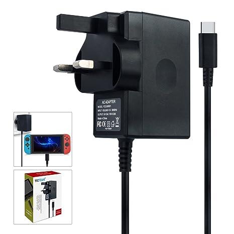 Cargador para Nintendo Switch, adaptador de CA compatible ...