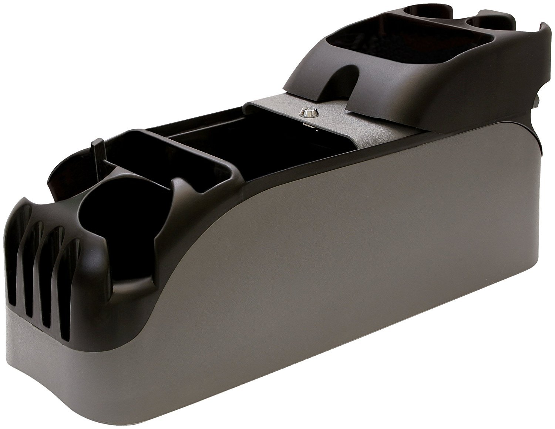 Universal center car console organizer truck cup holder