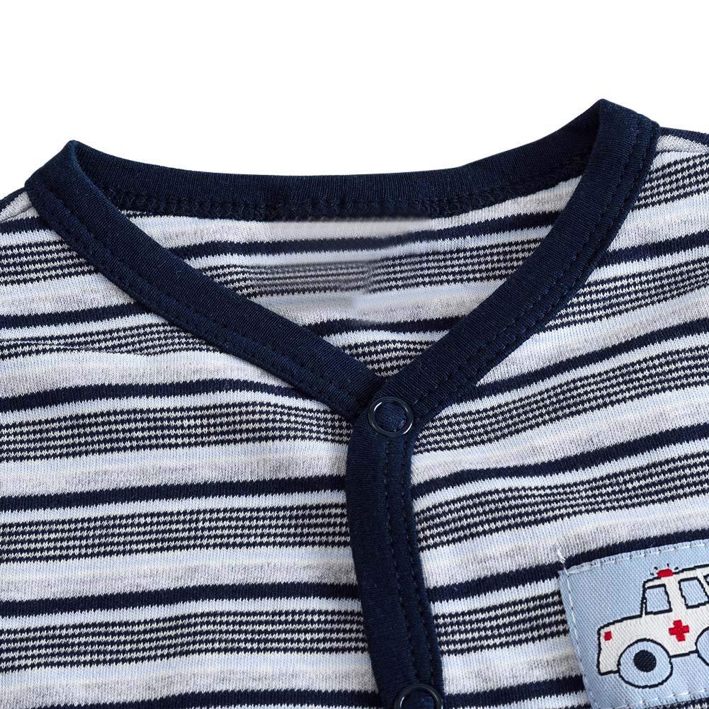 chinatera Baby Footed Pajamas Toddlers Cotton Onesie PJs Sleepwear Rompers Winter Spring