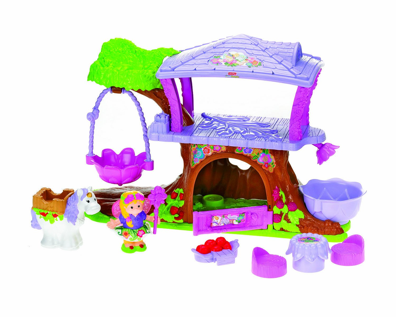 Exceptional Little People Fairy Treehouse Part - 2: Amazon.com
