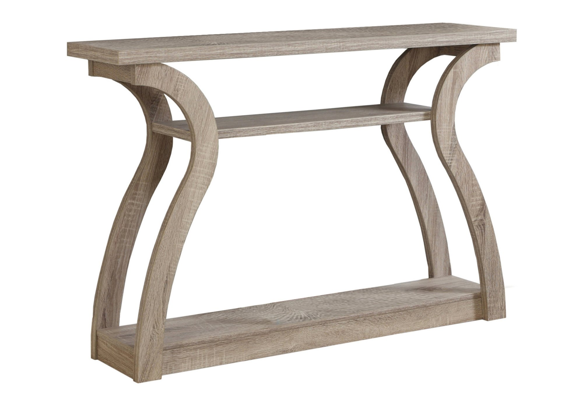 Monarch Specialties I 2446, Hall Console, Accent Table, Dark Taupe, 47''L by Monarch Specialties