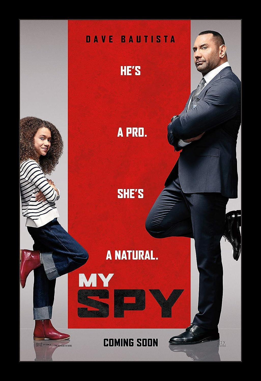 My Spy 2019 Dave Bautista Movie Silk Canvas Poster Wall Decor Print 24x36 inch