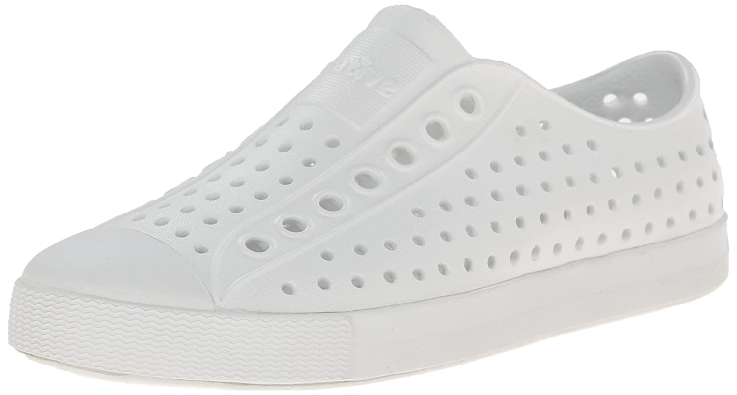 native Jefferson Water Shoe B00L5KQYS6 4 US Men/6 US Women|Shell White/Shell White
