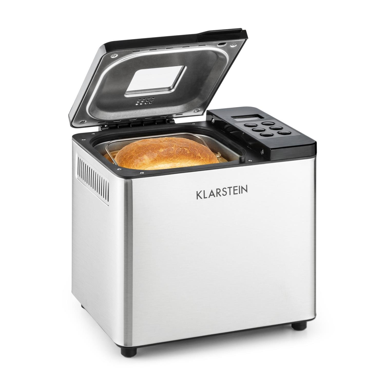 Klarstein Krümelmonster Panificadora W de potencia capacidad de g pan diseño compacto