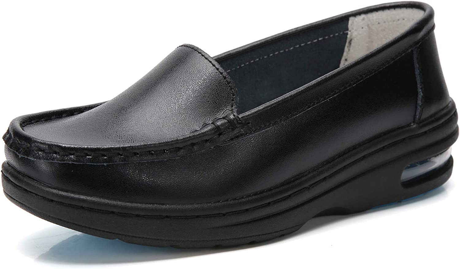 all leather shoes for nursing