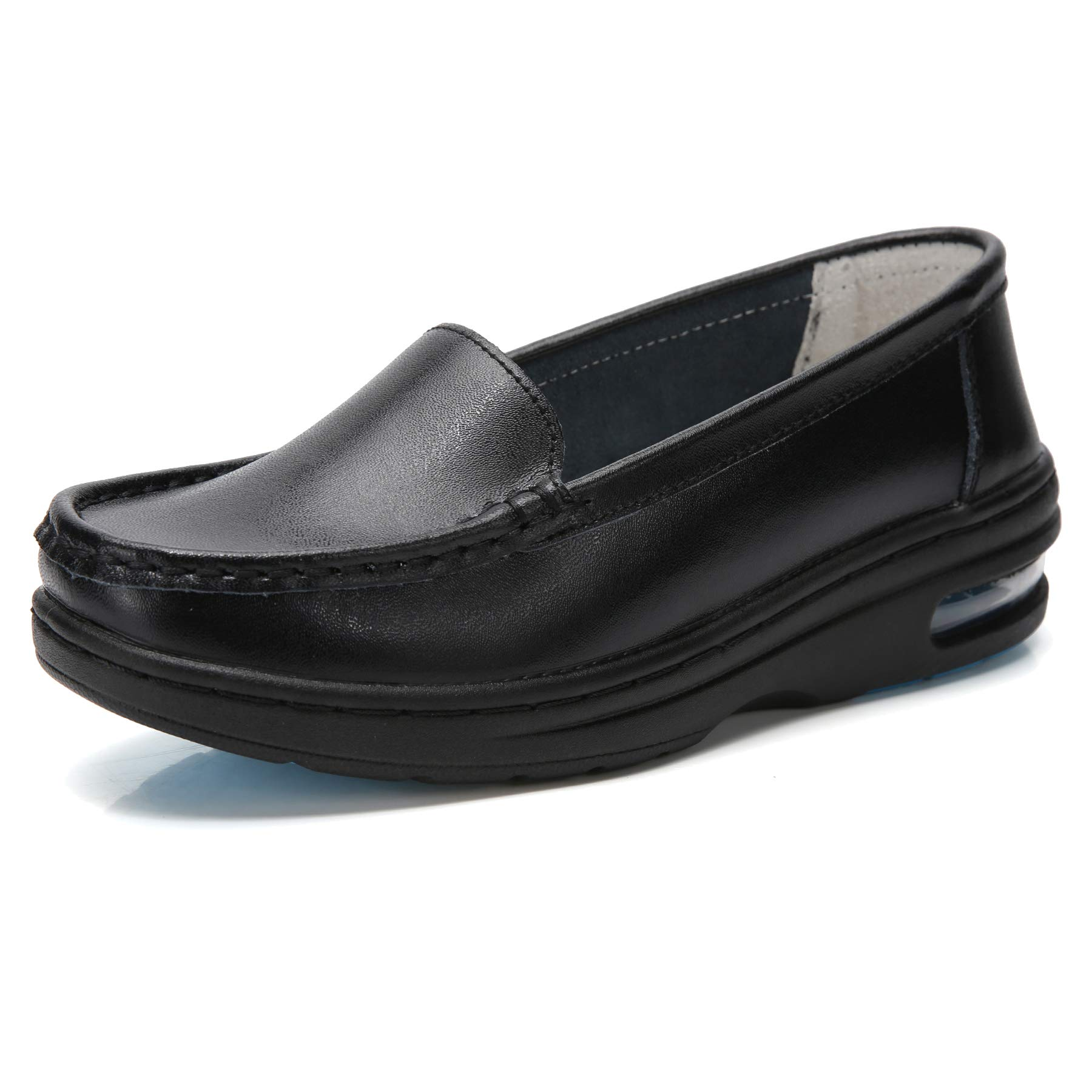 TRULAND Women's Leather Nurse Shoes All