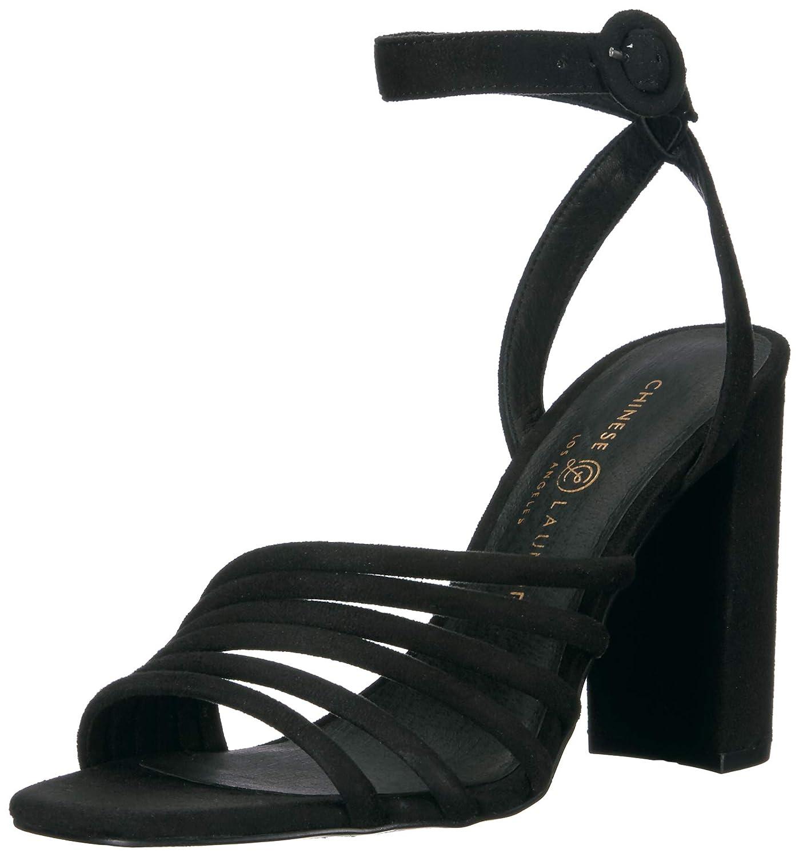 62a90b05632 Amazon.com | Chinese Laundry Women's Jonah Heeled Sandal | Heeled ...
