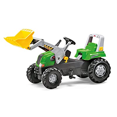 Rolly Toys Junior Front Loader RT Tractor, Green: Toys & Games