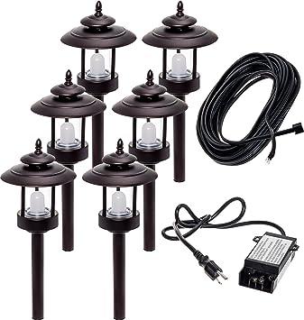 6 Pack Westinghouse 100 Lumen Low Voltage Led Pathway Light