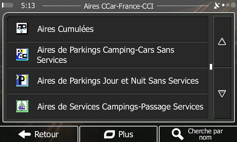 GPS per Camper campeggio 9 pollici HD Europa A Vita