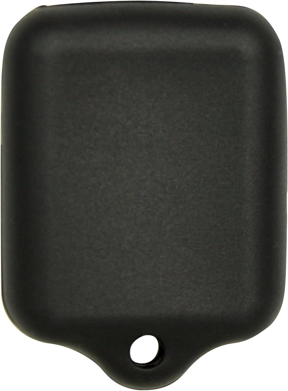 Keyless2Go New Silicone Cover Protective Cases for Remote Key Fobs FCC CWTWB1U345 CWTWB1U331 GQ43VT11T Black