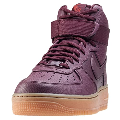 the best attitude 6f5c5 1f430 Nike Air Force 1 Hi SE Women s Shoes Night Maroon 860544-600 (10. 5 B(M)  US)  Buy Online at Low Prices in India - Amazon.in