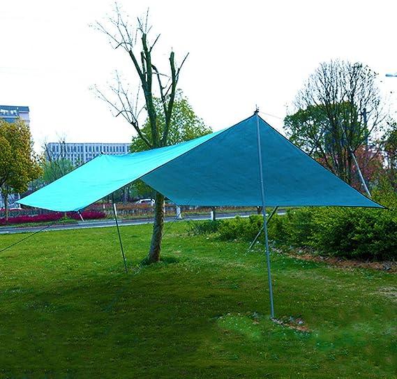SAMMZN Sombrilla Tienda de campaña_Puerta Exterior multifunción Parasol de Playa pérgola sombrilla 300 sin Varilla y Cuerda: Amazon.es: Deportes y aire libre