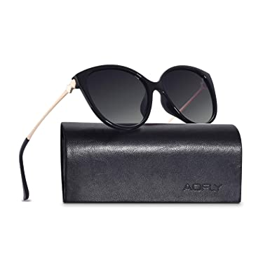 472a1e9958 AOFLY Fashion Polarised Cat Eye Sunglasses For Women Gradient Lens ...