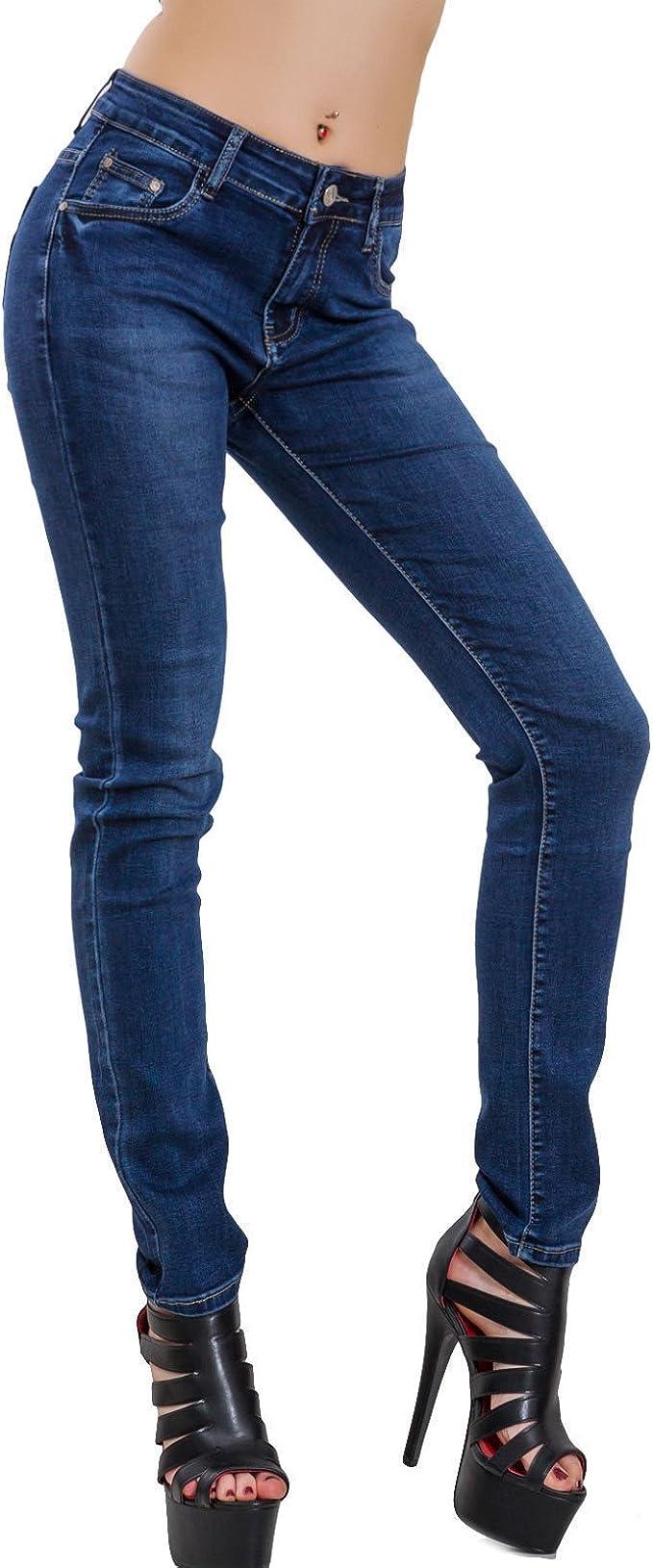 serrare Feudo Deliberato  Toocool - Jeans Donna Pantaloni Denim Slim Aderenti Scuri Curvy  Elasticizzati Sexy A1931: Amazon.it: Abbigliamento