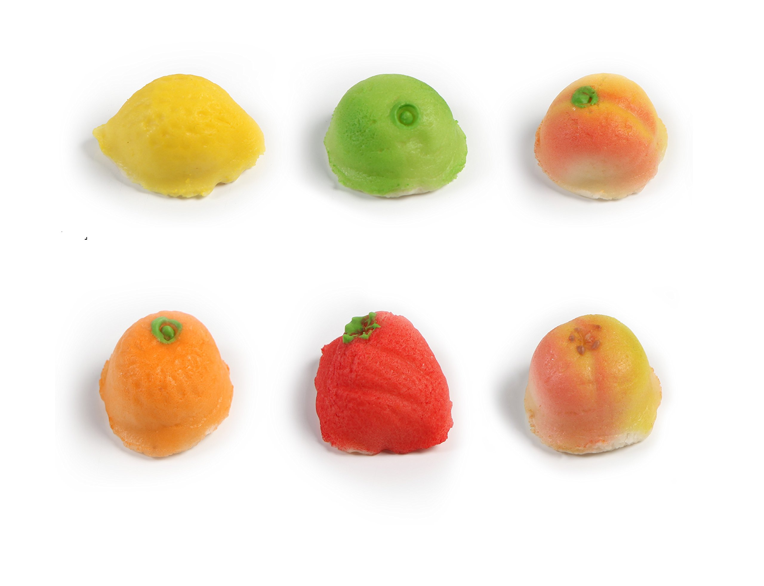Oh! Nuts® Marzipan Candy Fruits, Holiday Gourmet Marzipans Tray in an Elegant Gift Box, Unique Basket for Women & Men Alike, Send it For Thanksgiving, Christmas Gourmet Food Idea (54 Piece) by Oh! Nuts® (Image #4)